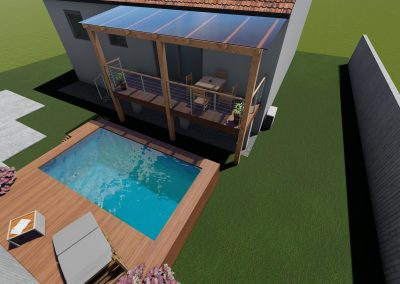 vizualizace balkonu