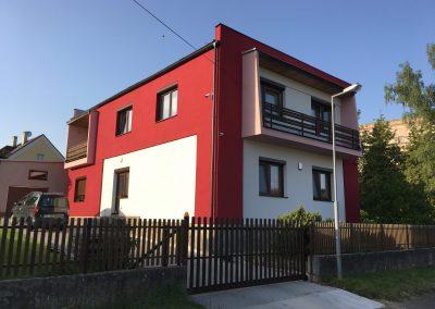 renovace fasády na vile