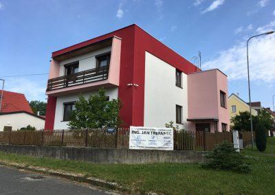 Návrh fasády pro vilu, Domažlice
