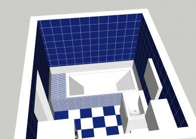 Návrh koupelny 1