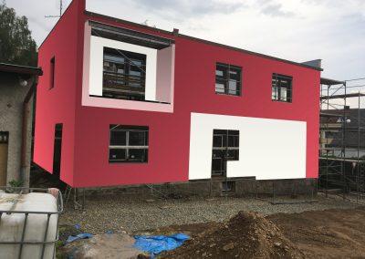 návrh fasády vily