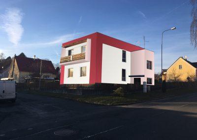 návrh fasády pro vilu